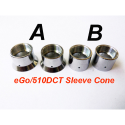 510 Dual Coil Tank Sleeve Cones