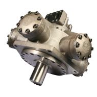 baja velocidad del motor hidráulico