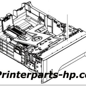 RM1-6279-000CN HP LaserJet ENT P3015 Tray 2 Cassette Assembly