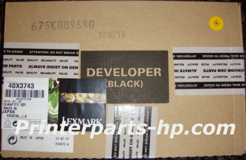 40X3743 Lexmark C935 Black Developer