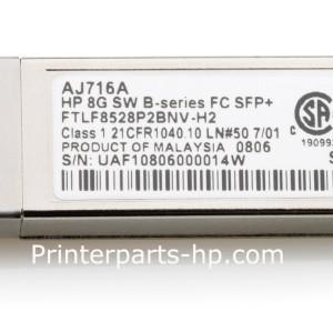 AJ716A HP 8GB SHORTWAVE B-SERIES FC SFP+ 468507-001