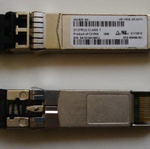 HP 455883-B21,455885-001,456096-001 10G SFP+Fiber Module