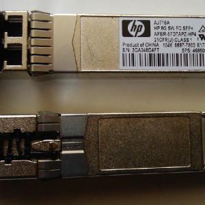 HP AJ718A SFP 468508-001 Fiber Module AVAGO