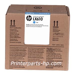 HP LX610 Cyan/Black Latex Printhead (CN668A)