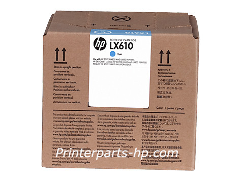 HP LX610 Cyan/Black Latex Printhead (CN668A)