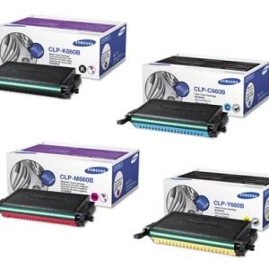 CLP-K660B Samsung CLP-610/660/CLX-6200 Toner Cartridge