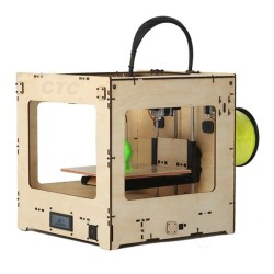3D printer Fast Print three-dimensional   dual nozzle printer for color printing