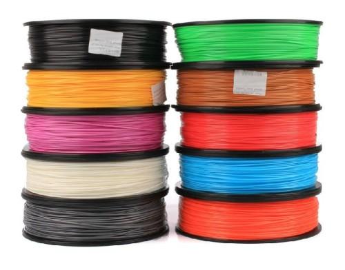 1.75mm /3.0mm 1kg three-dimensional printing material