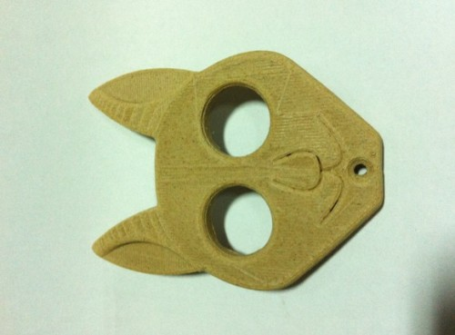 1.75mm wood color 3D printer material
