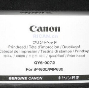 QY6-0072 Genuine Original Print Head For Canon IP4600 IP4700 MP630 MP640
