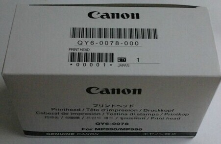QY6-0078 CANON MP990 MP996 MG6120 MG6220 MG8120 Print Head