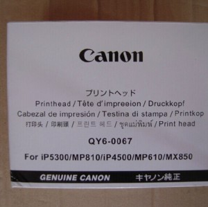 QY6-0067 Original  Canon IP4500 IP5300 MP610 MP810 Print Head