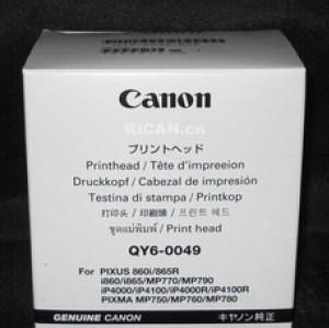 QY6-0049 New Genuine Canon I865/IP4000/MP760/MP780 Print Head