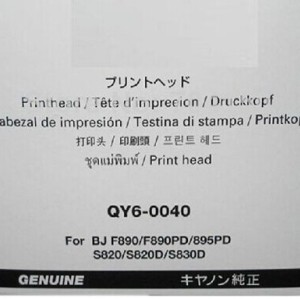 QY6-0040 Canon S820 BJ F890 BJF895PD Original New Print head