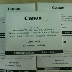 QY6-0063 Genuine Original Canon iP6600D iP6700D Print Head