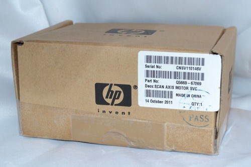 Q5669-67069 Genuine HP T610 T1100 Carriage Axis Motor