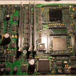 C6096-20100 Designjet 5000 5000PS 5500 5500PS Main PCA Logic Formatter Board