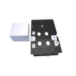 230PCS Inkjet PVC Card ID Card +1PCS Tray for EPSON R200 R210 R220 R230 R300 R310 R320 R350