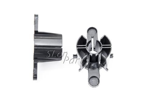 C3174-40011 HP DesignJet 430 450c 455ca 488ca Spindle End Cap Black 1 set
