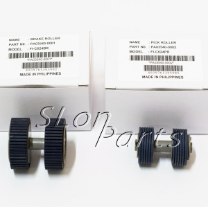 10SET NEW PA03540-0001 PA03540-0002 Fujitsu Fi-6130 Fi-6140 Pick Up Roller Kit