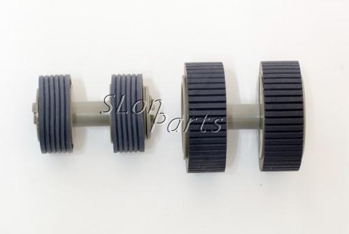 10SET NEW PA03540-0001 PA03540-0002 Fujitsu Fi-6130 Fi-6140 Pick Up Roller Kit