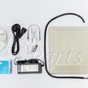 UHF RFID Card reader 8m long range, 8dbi Antenna RS232/RS485/Wiegand Read 6M Int