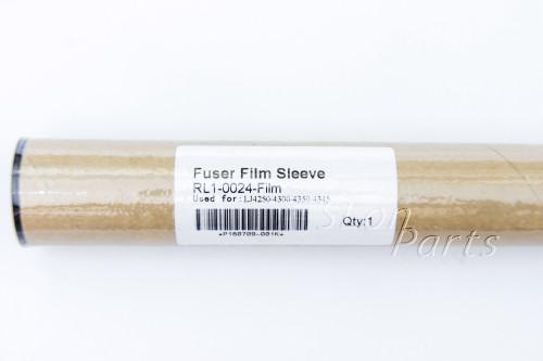 RL1-0024-Film HP LaserJet 4250 4300 4345 4350 Fuser Film Sleeve w/ grease