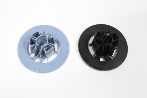 C7769-40169 1 Pair Spindle HuB(blue+black) C7769-40169 Spindle Hub Paper fastener HP DesignJet 500 510 800 1050 1055 printer