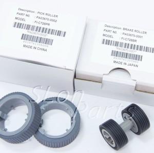 PA03670-0001 PA03670-0002 Fujitsu Fi-7160 Fi-7180 Fi-7240 Fi-7260 Fi-7280 Fi-7460 Brake Pick Roller