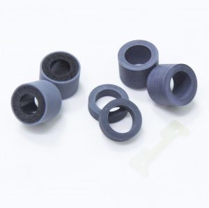 6 PCS Pick Roller Tire And Separation Pad Set PA03450-K011 PA03450-K012 PA03450-K013 PA03450-K014 for Fujitsu Fi-5900C