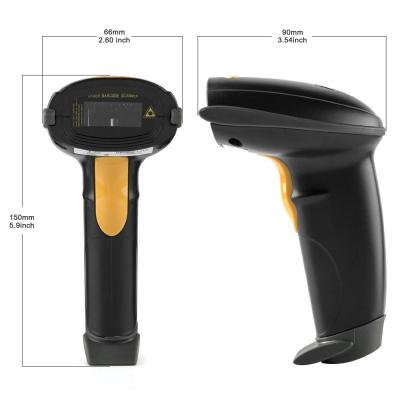 Yanzeo New L6810 High Speed  Wired Laser Handheld USB 1D Laser Barcode Scanner