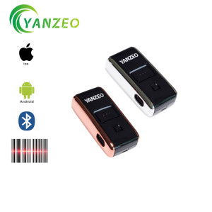 YZ-2002 Bluetooth Wireless 1D Mini Portable Pocket Memory Laser Scanner (10pcs)
