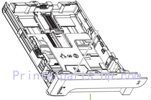 HP P2055 tray2 250-sheet Paper cassette