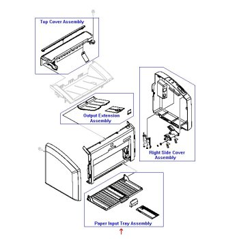 RM1-6901-000CN HP1536dnf Paper Pick-up Tray ASS'Y,China