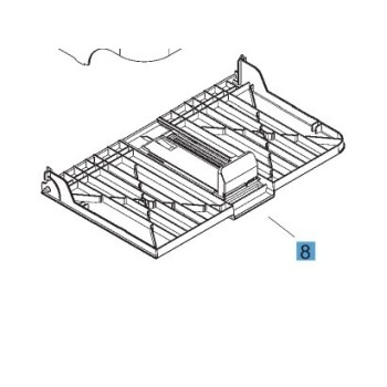 RM1-7534-000CN HP1606DN P1566 PAPER PICK-UP TRAY ASS'Y