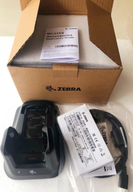 CRD-MC33-2SUCHG-01 for Zebra MC3300 MC33XX MC330K Barcode Scanner Single Slot Charger Cradle
