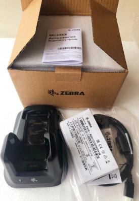 CRD-MC33-2SUCHG-01 for Zebra MC3300 MC33XX MC330K Barcode Scanner Single Slot Charger Cradle