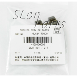 6LA84140000 for Toshiba E Syudio 163/181/182/200L/232/233/283/282 20T/21T Gear Fixing Assy (10pcs)