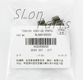 6LA84140000 for Toshiba E Syudio 163/181/182/200L/232/233/283/282 20T/21T Gear Fixing Assy (10pcs)