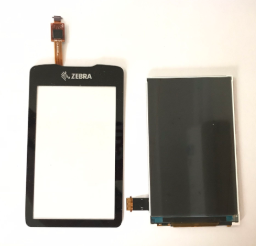 LCD with Touch Digitizer with Front Cover For Zebra MC3300 MC33