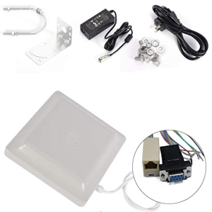 Yanzeo SR682 UHF RFID Reader Long Range IP67 RJ45 Network Output UHF Integrated Reader