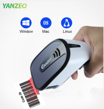 Yanzeo Wired 2D Handheld Barcode Scanner USB Wired 1D Bar Code Scan Reader for POS Windows IOS Android Linux