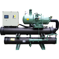 water cooled screw chiller HTS-W series