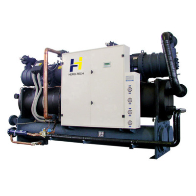 water cooled screw chiller HTS-WD series