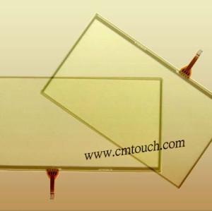 8-pouces à écran résistif écran tactile pour ordinateur portable legtop