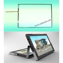12,1 pouces à écran résistif écran tactile pour ordinateur portable legtop
