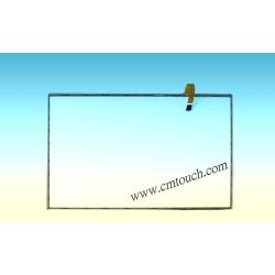 22'' pouces avec panneau 5fil 16:10 tactile résistif analogique de l'écran tactile à des fins médicales et industrielles