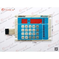 Membrane keypad keyboard for SAC-M1250-010