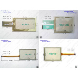 Touch Screen Glass Panel for P177A/TP177B/TP270-6/MP177-6/MP270-6/TP277-6
