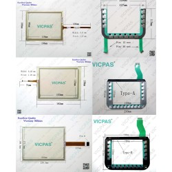 2826000B 1071.0123 A133400593 touch screen panel